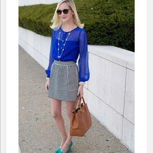 New madewell ponte swivel skirt